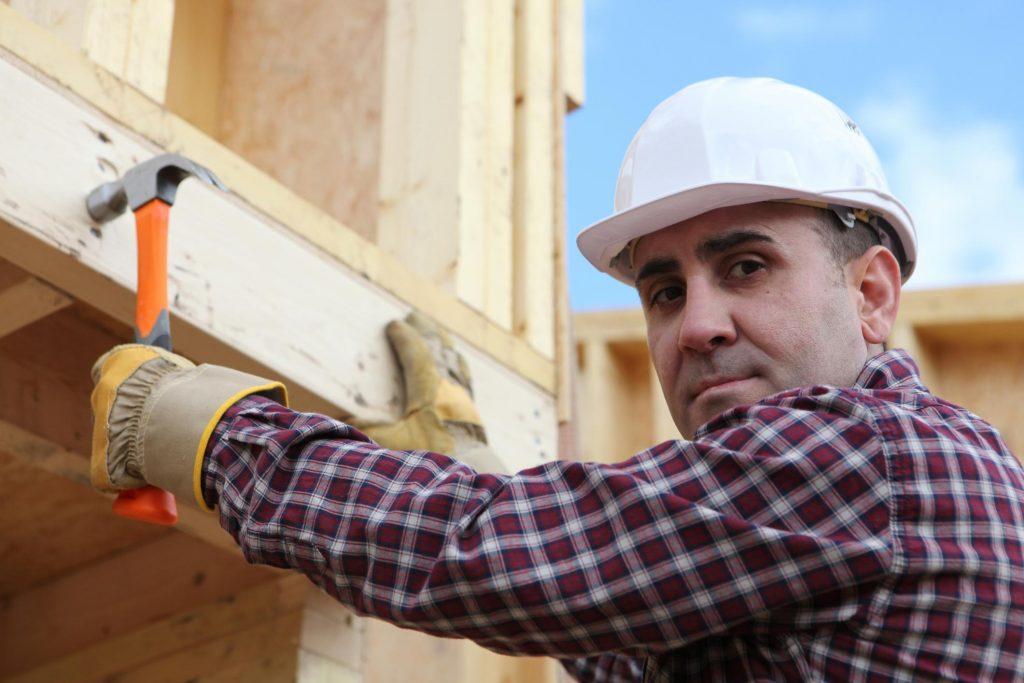 remodeling expert working on home remodeling